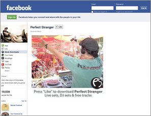 Perfect Stranger - Facebook page