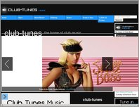Club-Tunes page