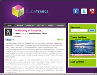 Cube Trance page