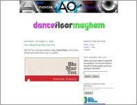 Dancefloor Mayhem page