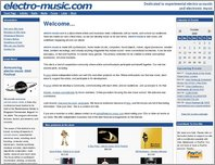 electro-music.com page