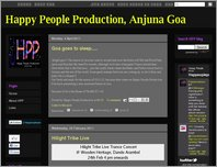 Happy People Production, Anjuna Goa page