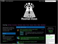 Mountain Vision page
