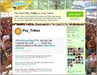Psy Tribes Germany on Twitter page