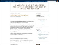 Wavelogix Music page