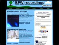 BFW recordings page