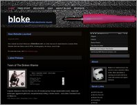 Bloke Music - glitch, idm & experimental electronic music page