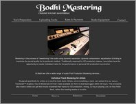 Bodhi Mastering page