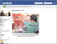 Perfect Stranger - Facebook page page