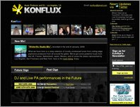 Konflux — Music Producer and DJ page