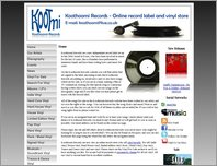 Koothoomi Records - Independent Essex Record Label - Vinyl For Sale page