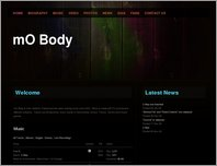 mO Body Official Site page