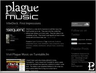 Plague Music page