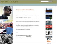 Pop Stream Music page