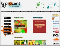 Prozent Music page
