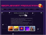 RedPlannet Productions page
