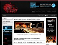 Red Revenge Studios page