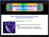 Fractal Fashion Clothes Rave Accessories Black Light Sensitive Space Gear page