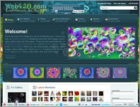 Web420.com Psychedelic Social Network page